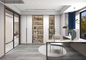 140平米四室两厅轻奢风格书房图片