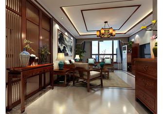 富裕型130平米三室两厅中式风格客厅欣赏图