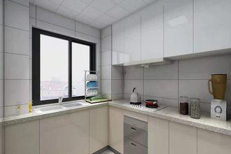 富裕型120平米三室一厅现代简约风格厨房效果图