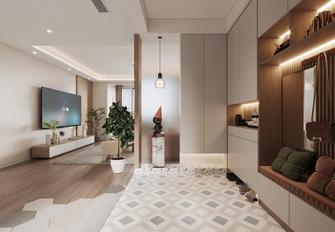 10-15万110平米三室两厅北欧风格玄关设计图