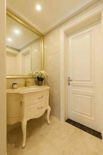 富裕型120平米一室一厅欧式风格梳妆台装修图片大全