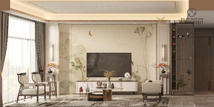 3万以下140平米四室两厅中式风格客厅设计图