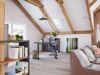 80平米一居室工业风风格客厅效果图