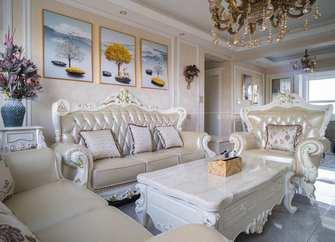 富裕型三欧式风格客厅装修案例