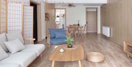 110平米三北欧风格客厅图片