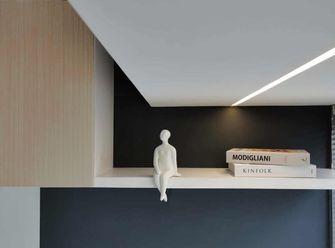 60平米一居室现代简约风格书房装修效果图