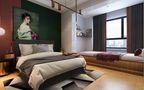 10-15万80平米北欧风格卧室装修图片大全
