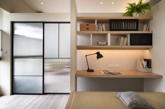 经济型130平米三日式风格书房效果图