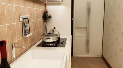 经济型60平米田园风格厨房图