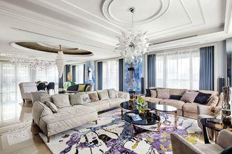 20万以上140平米别墅混搭风格客厅图片大全
