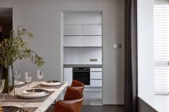 富裕型130平米四室一厅轻奢风格餐厅装修图片大全