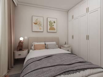 富裕型70平米三室三厅现代简约风格卧室欣赏图
