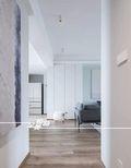 富裕型140平米三室两厅现代简约风格走廊欣赏图