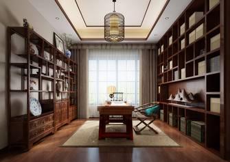 140平米中式风格书房装修效果图