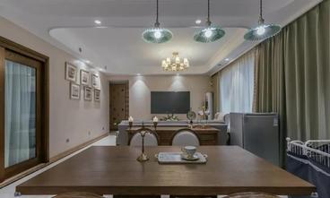 120平米四室两厅美式风格餐厅装修效果图