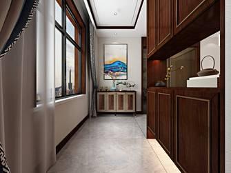 5-10万130平米三室两厅中式风格阳台效果图