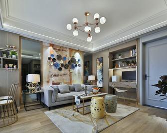 富裕型70平米公寓法式风格客厅欣赏图