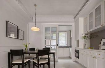 20万以上130平米四室一厅轻奢风格餐厅设计图
