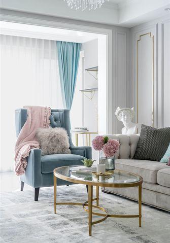 富裕型130平米一室一厅轻奢风格客厅欣赏图