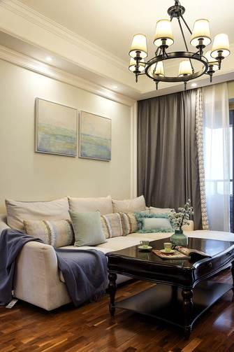 20万以上120平米三室两厅美式风格客厅装修图片大全