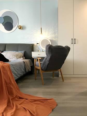 富裕型120平米三室一厅现代简约风格卧室装修案例