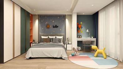 20万以上140平米四室一厅混搭风格卧室设计图