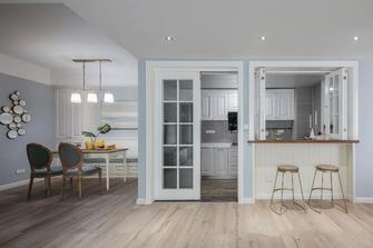 富裕型100平米三欧式风格厨房图