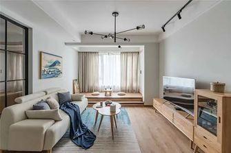 富裕型90平米三室一厅日式风格客厅装修效果图