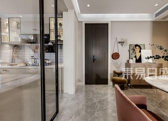 经济型110平米三室两厅现代简约风格玄关装修图片大全