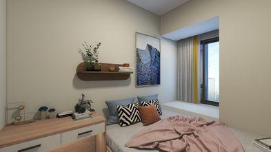 富裕型100平米三室两厅日式风格卧室图片大全