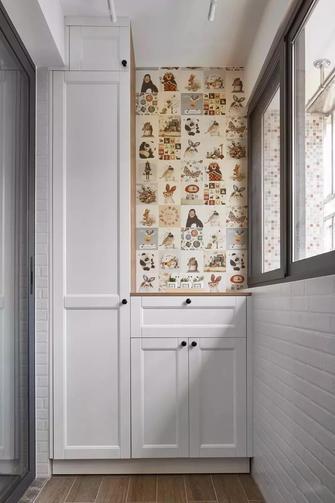 90平米三室三厅北欧风格阳台图片