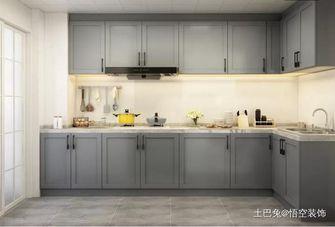 富裕型140平米三现代简约风格厨房装修案例