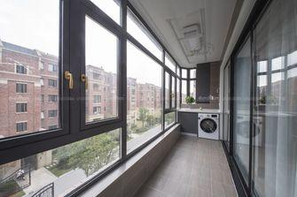 130平米三现代简约风格阳台图片大全
