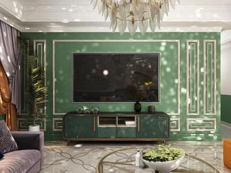 100平米三田园风格客厅装修案例