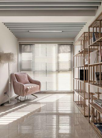 富裕型140平米三室两厅美式风格书房图片大全