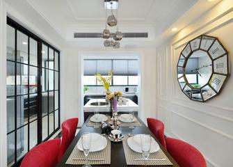 15-20万100平米三室一厅现代简约风格餐厅图片
