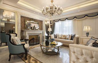 豪华型140平米法式风格客厅装修图片大全