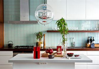富裕型70平米一室一厅北欧风格厨房图片