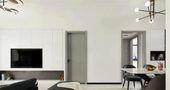 经济型50平米一室一厅混搭风格客厅图