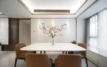 120平米三现代简约风格餐厅图片