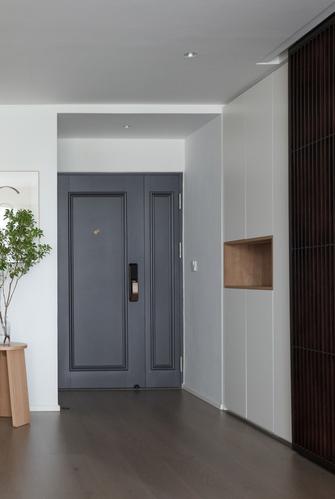 富裕型100平米三室两厅混搭风格玄关图