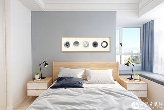 经济型90平米三室两厅北欧风格卧室效果图