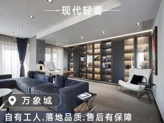 20万以上140平米四室三厅现代简约风格客厅图