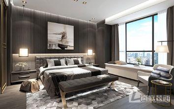 20万以上120平米三室两厅中式风格卧室图