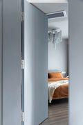 130平米三室两厅北欧风格卧室图片