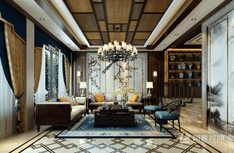 豪华型120平米三室两厅中式风格客厅图片