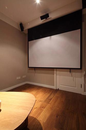 110平米三室两厅混搭风格影音室装修效果图