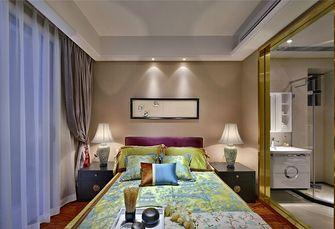 富裕型140平米三室一厅中式风格卧室欣赏图