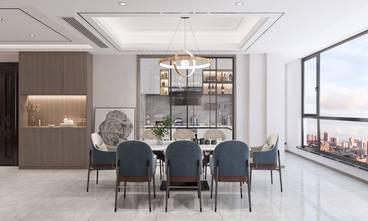 豪华型140平米四现代简约风格餐厅装修图片大全