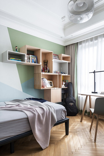 10-15万140平米四室两厅北欧风格青少年房设计图